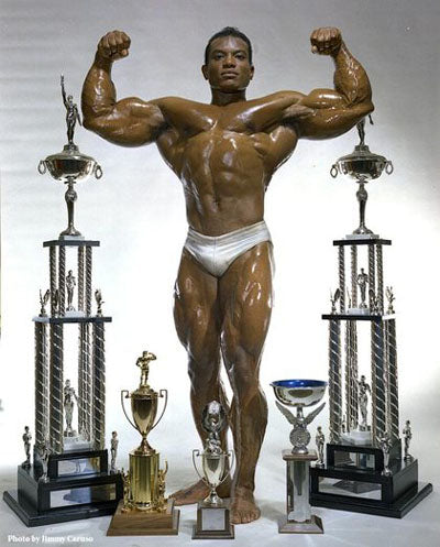 Young Myth Sergio Oliva - Bodybuilding Legend
