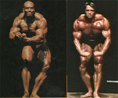 1980 Arnold Vs 1980 Sergio Oliva - Comparison 1