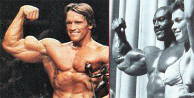 1980 Arnold Vs 1980 Sergio Oliva - Comparison 4