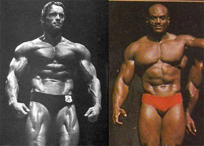 1980 Arnold Vs 1980 Sergio Oliva - Comparison 5