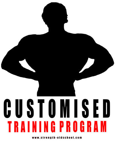 Customised Workout Program