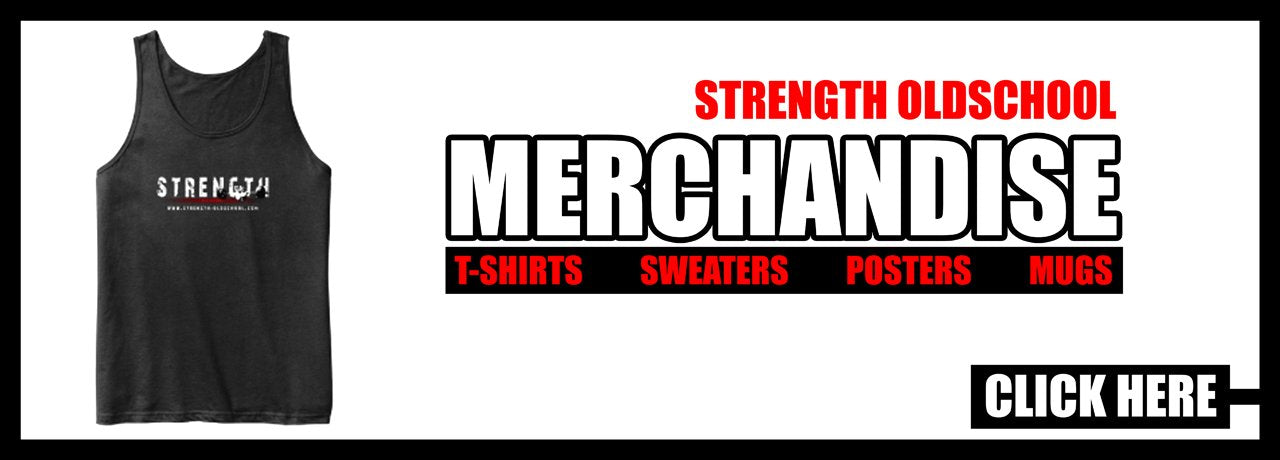 Strength Oldschool Merchandise