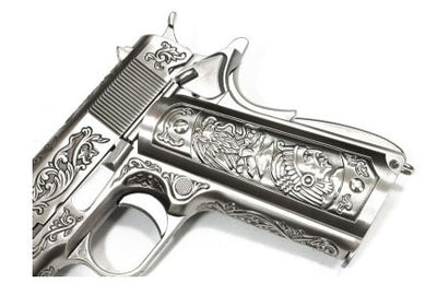 WE 1911 Chrome Classic Floral Pattern