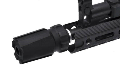 Dytac Blast Mini Tracer with Built-in Xcortech XT301 (14mm CCW) - Black - Ultimateairsoft fun guns cqb airsoft