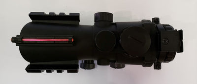 HD20 Optic Acog Style Red Dot - Ultimateairsoft fun guns cqb airsoft