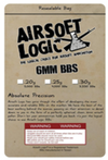 Airsoft Logic 6mm BBs 1kg - Ultimateairsoft fun guns cqb airsoft