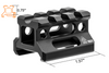 "Super Slim Picatinny Riser Mount (Height: 0.75"" / Short) - Ultimateairsoft fun guns cqb airsoft"