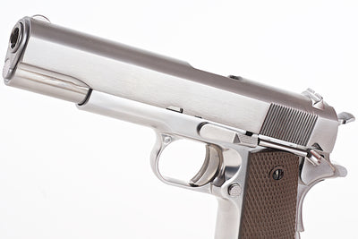 WE Silver 1911 Brown Grip