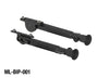 ARES SINGLE-LEGGED SWIVEL BI-POD FOR M-LOK RAIL SYSTEMS (SHORT) - Ultimateairsoft fun guns cqb airsoft