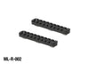 "AMOEBA 4"" KEY RAIL M-LOK - Ultimateairsoft fun guns cqb airsoft"