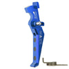 CNC Aluminum Advanced Trigger (Style E) (Blue) - Ultimateairsoft fun guns cqb airsoft