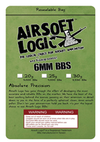 Airsoft Logic Biodegradable 6mm bbs 1kg - Ultimateairsoft fun guns cqb airsoft