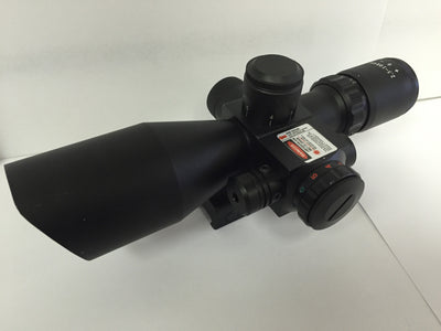2.5-10X40 Red Laser Scope - Ultimateairsoft fun guns cqb airsoft