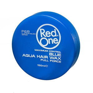 Blue Hair Wax front
