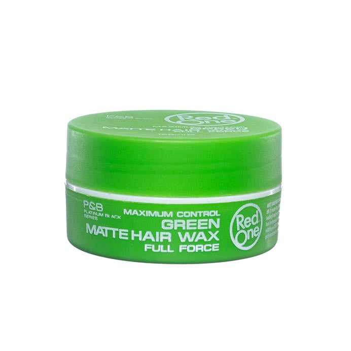 Green Matte Hair Wax