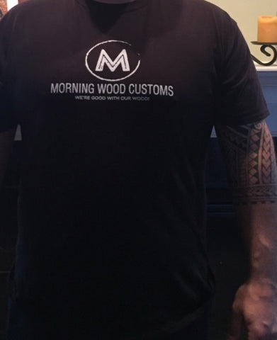 Morning Wood Customs got wood? t-shirt