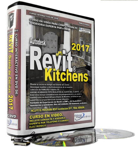 Revit 2017 Kitchens.