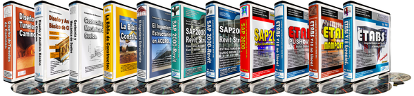 Paquete ETABS & SAP200 FULL!