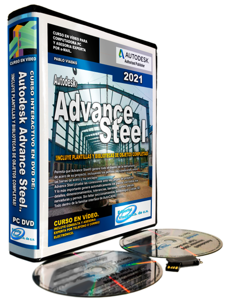 Curso de Advance Steel 2021 | Esencial