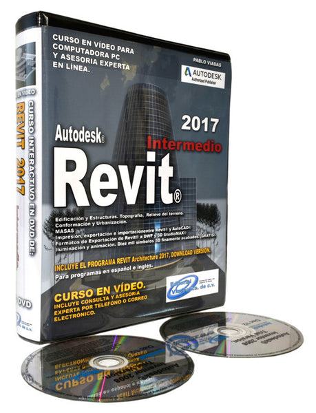 Revit 2017 Curso en Vídeo Intermedio.