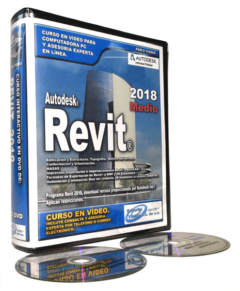 Revit 2018 Curso en Vídeo Intermedio.