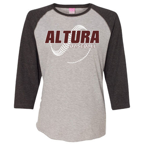 Ladies Altura Baseball Raglan Tee