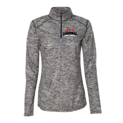 Cardinal Softball - Badger - Blend Women's Quarter-Zip Pullover - 4193