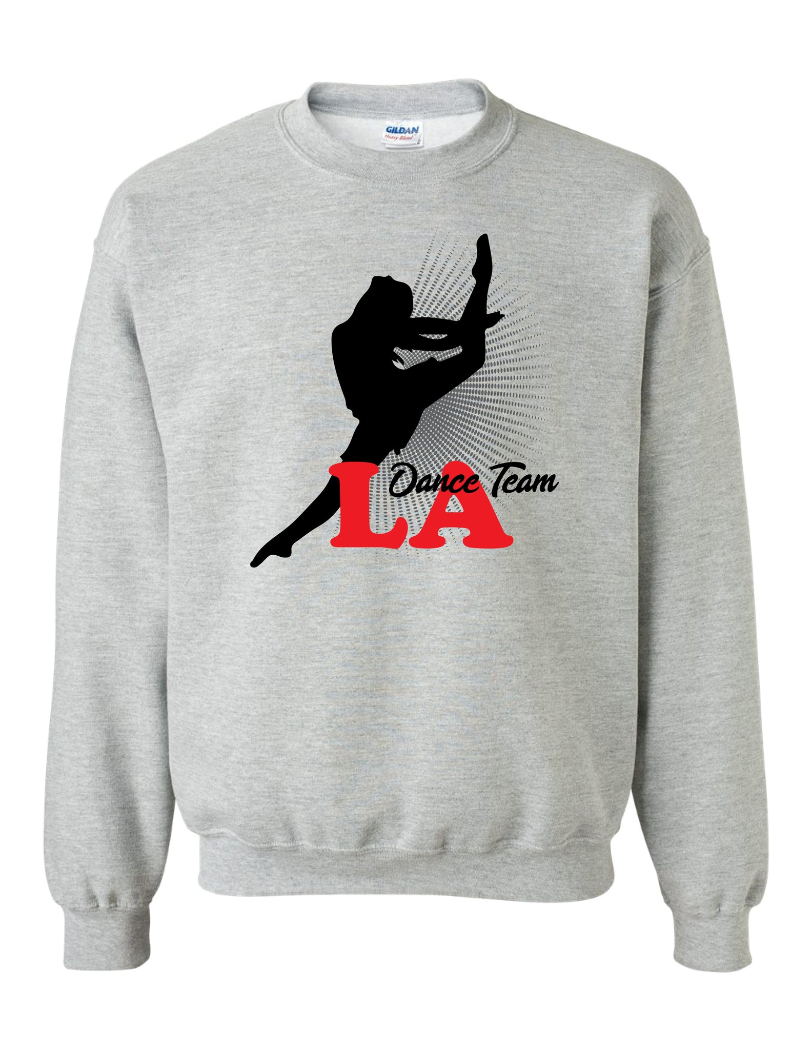 DANCER DESIGNED: LADT - Heavy Blend Crewneck Sweatshirt - 18000 - Grey