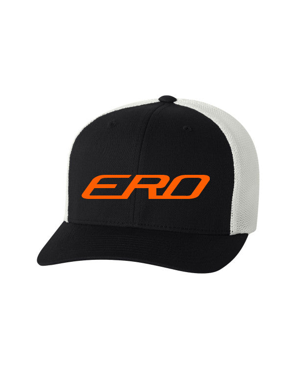 E.R.O. Embroidered Flexfit Trucker Cap