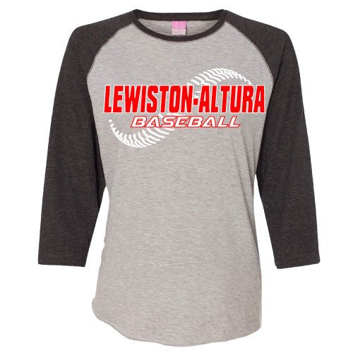 Ladies Lewiston - Altura Baseball Raglan Tee