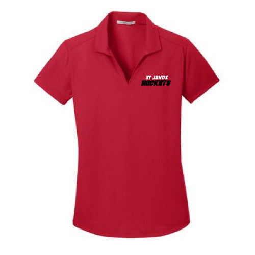 Ladies Dry-Zone, Grid Polo