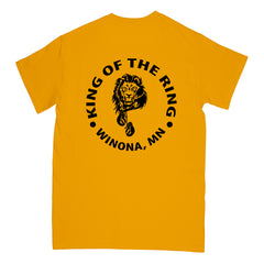 Lion's Den Boxing - Gildan 8000 Tee - Gold