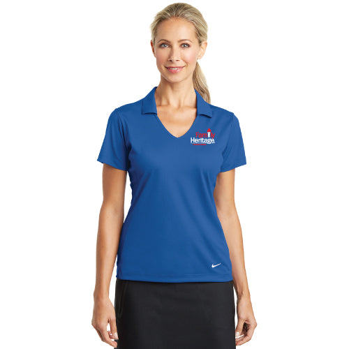 Family Heritage - Nike Ladies Dri-FIT Vertical Mesh Polo