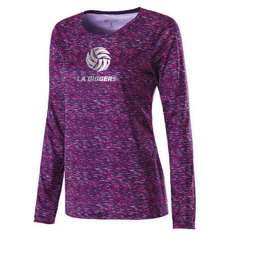Diggers Space Dyed LADIES Performance Long Sleeve - 229365