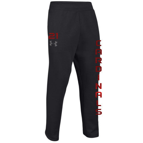 Cardinal Softball - UA Rival Fleece open bottoms