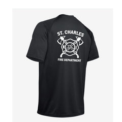 St. Charles Fire - UA Tactical Tech™ Short Sleeve T-Shirt - Dark Navy
