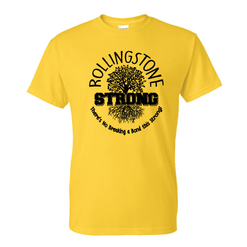 Rollingstone Strong Tee - Roots - Yellow