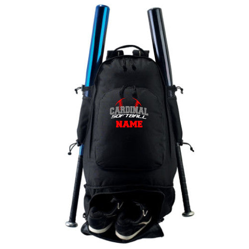 Cardinal Softball - STYLE 411 AUGUSTA EXPANDABLE BAT BACKPACK