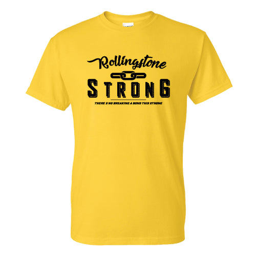 Rollingstone Strong Tee - Chain - Yellow
