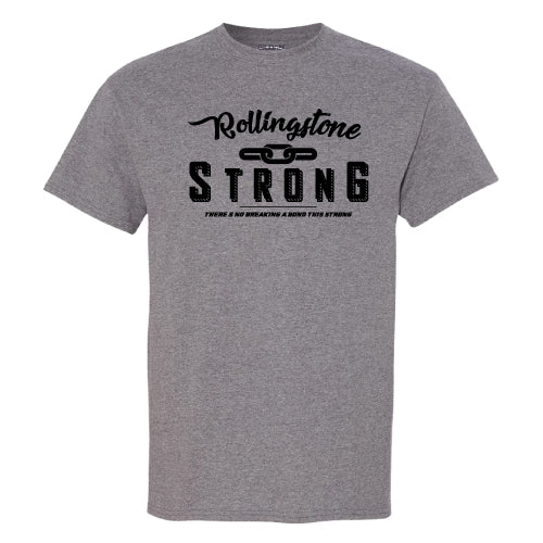 Rollingstone Strong Tee - Chain - Grey