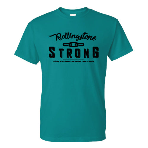 Rollingstone Strong Tee - Chain - Aqua