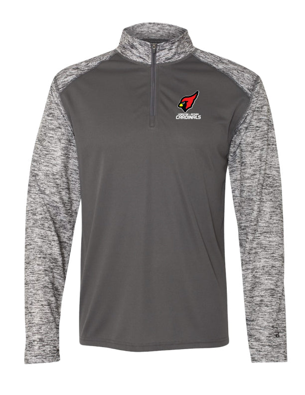 Cardinals - Embroidered Sport Blend 1/4 Zip - 4197