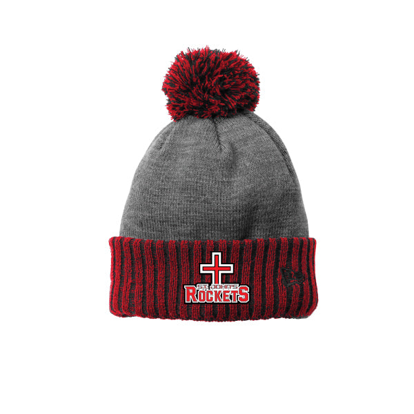 Rockets - New Era ® Colorblock Cuffed Beanie