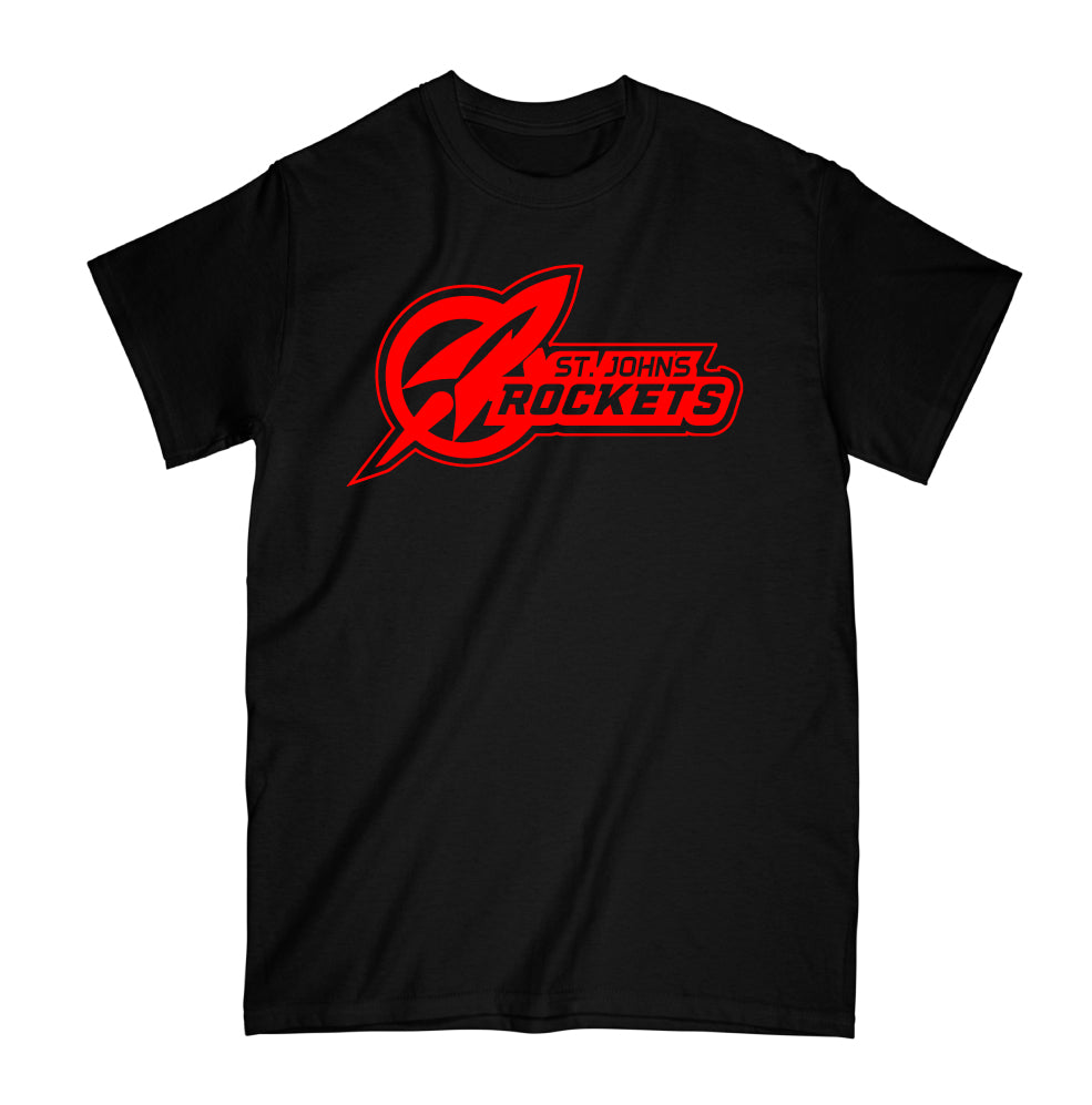 LIMITED SUPPLY - Rockets - Simple Tee - Black