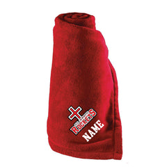 Rockets - Fleece Blanket with Carrying Strap