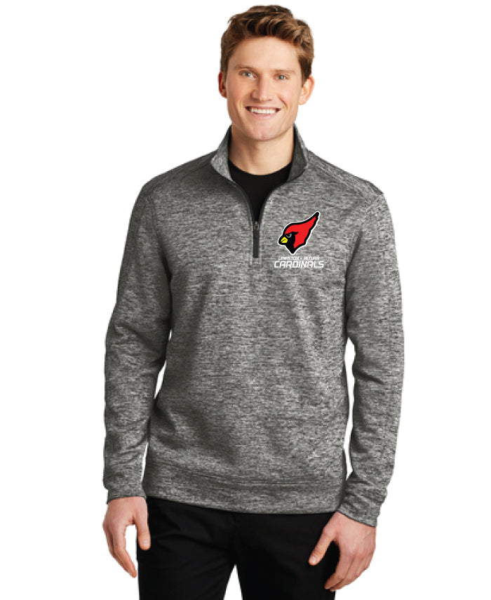 Cardinals - Electric Heather Performance Quarter-Zip