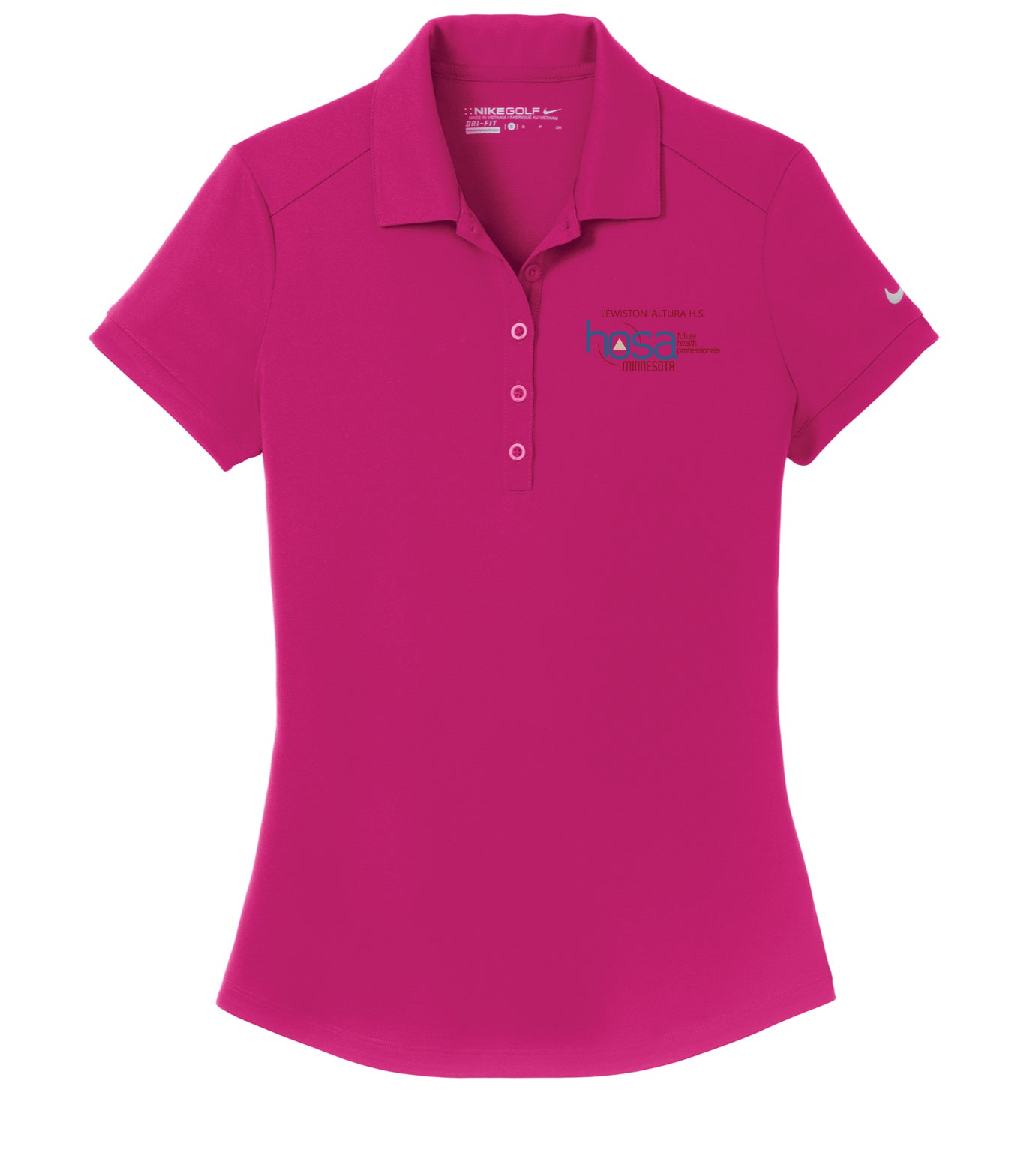 Nike Golf Ladies Dri-FIT Players Modern Fit Polo - 	 811807