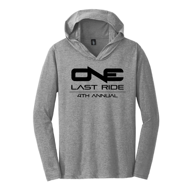 One Last Ride - District Made® Mens Perfect Tri® Long Sleeve Hoodie