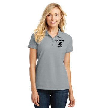 T1D Ninjas - Port Authority® Ladies Core Classic Pique Polo. L100