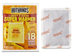 Super HotHands® Hand and Body Warmers